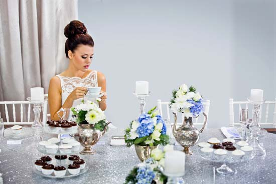 sparkling silver bridal shower ideas0034