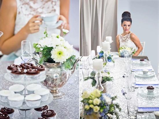 sparkling silver bridal shower ideas0108