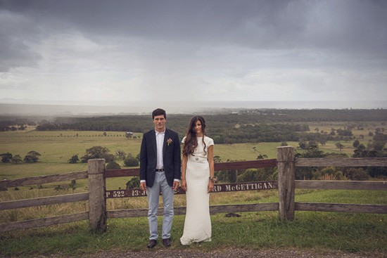 byron bay farm wedding photo