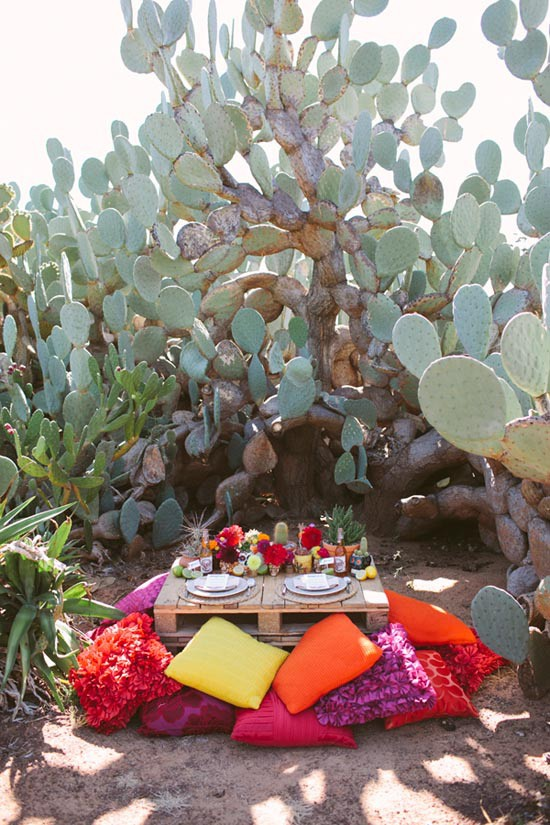 colourful mexico inspired wedding