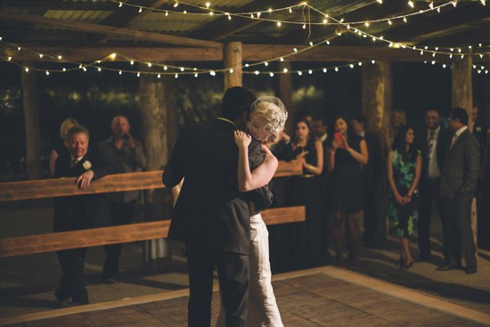 first dance australian barn wedding