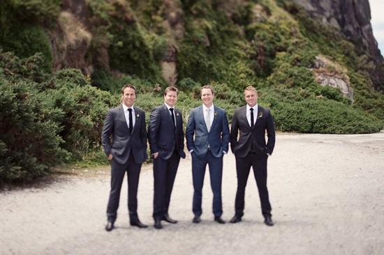 groom in classic suit