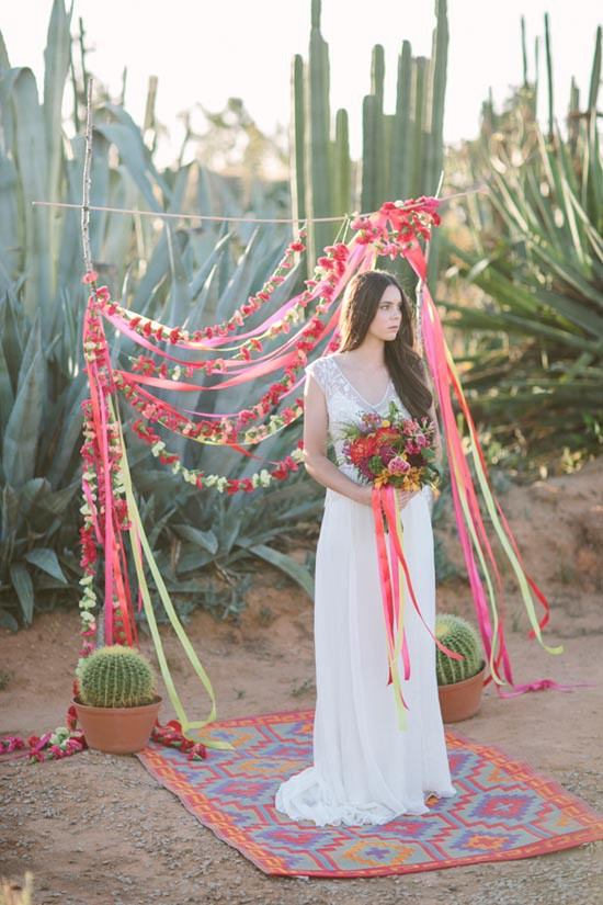 mexican fiesta bridal inspiration