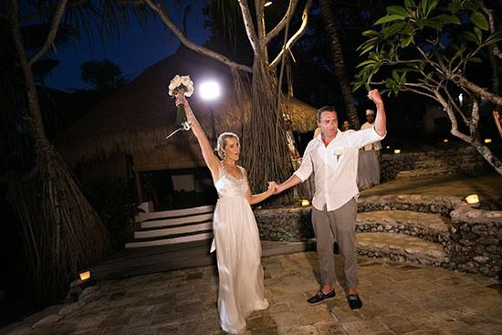 Bali Happy newlyweds