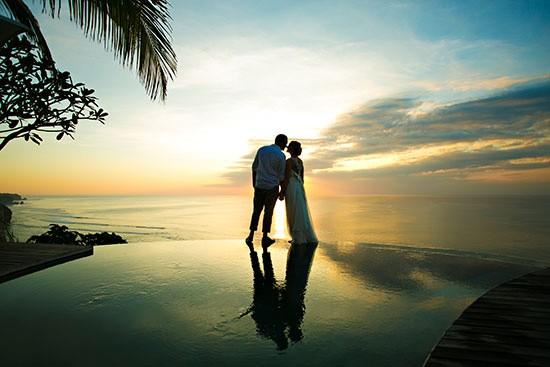 Bali Sunset wedding pohoto
