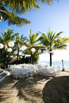 Daytime reception in Bali