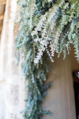 Foliage Ceremony Decor