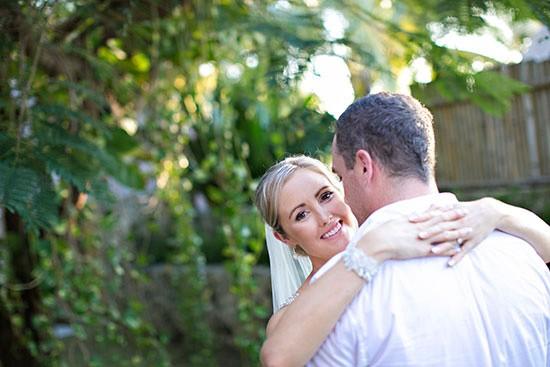 Newlyweds in Bali