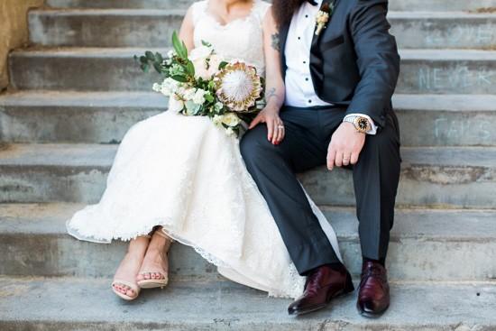 Newlyweds in Fremantle
