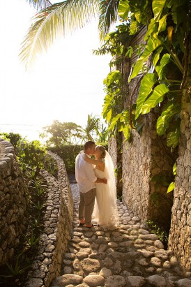 Sunset in Bali Wedding