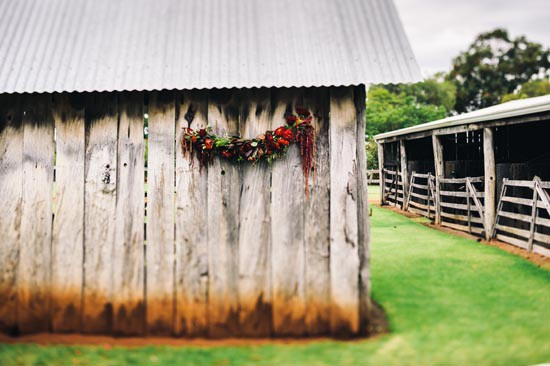 country wedding barn