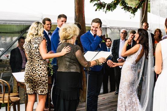 country wedding eremony