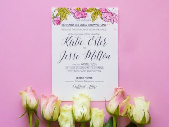 watercolour wedding invitations0002