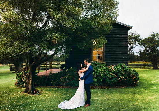 wedding at alverstoke barn