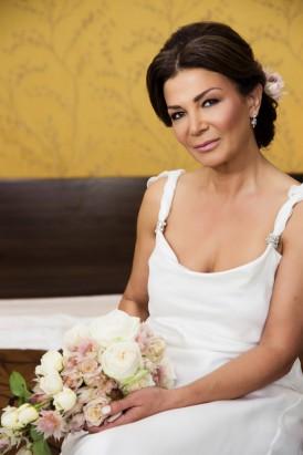Bride in Amanda Garrett