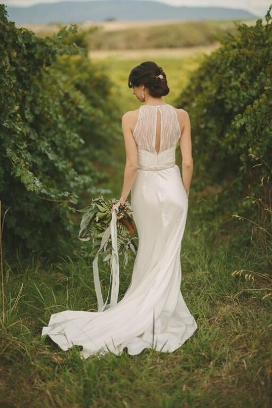 Bride in Susan Ogg