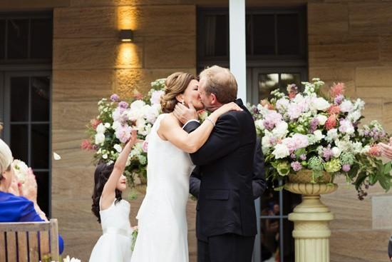 Courtyard wedding at Gunners Barracks