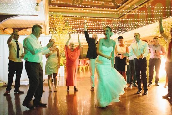 Dancing at Fitzroy Wedding