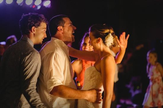 Dancing at Melbourne wedding
