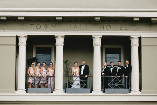 Fitzroy town hall hotel wedding