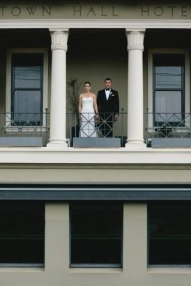 Fitzroy town hall wedding photo