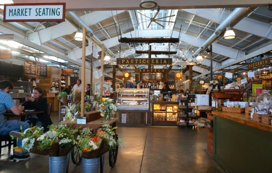Interior of Oxbow Public Market