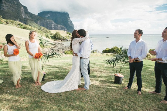 Lord Howe Island Wedding Australia