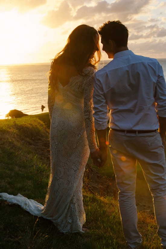 Lord Howe Island Wedding Sunset