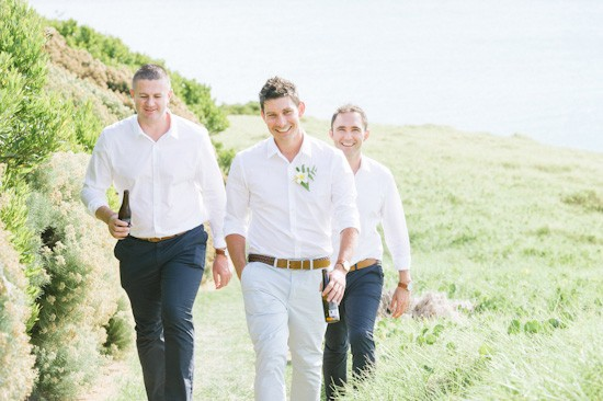 Lord Howe Island groom and groomsmen