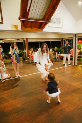 Lord Howe wedding dance floor