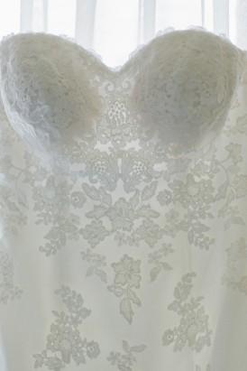 Maggie Sottero Strapless Dress