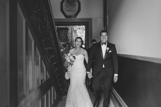 Newlyweds at Fitzroy Town hall