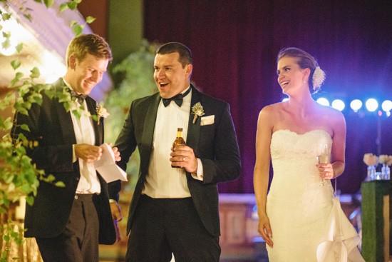 Town hall wedding speech