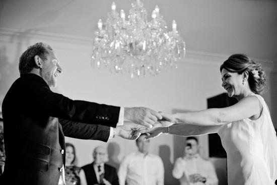 Wedding dance at Gunners Barracks