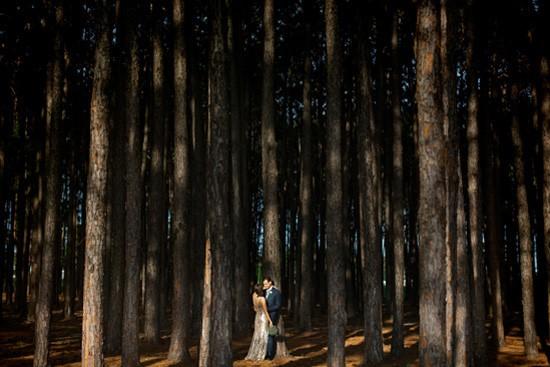 Australian forest wedding