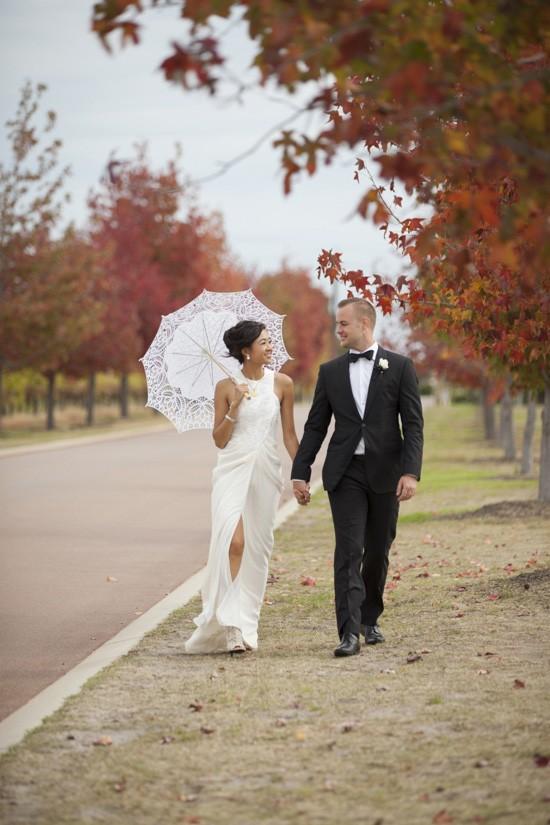 Autumn winery wedding