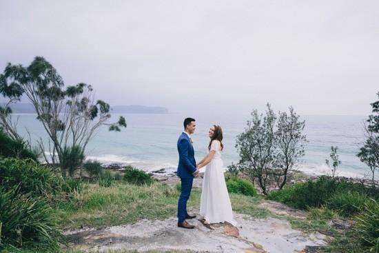 Batemans Bay wedding photo