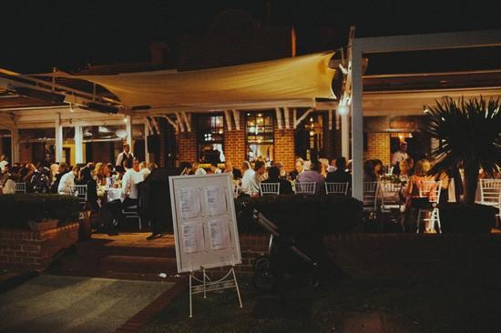 Blue Water Grill Wedding Reception