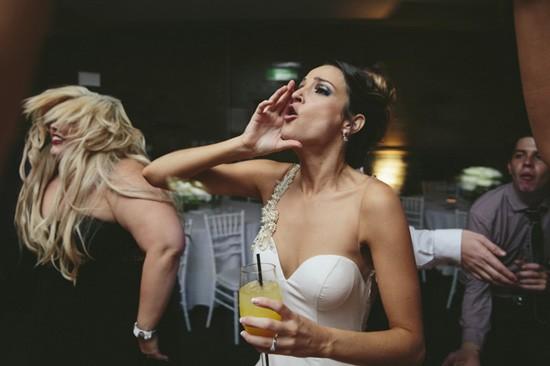 Bride on dnce flooor