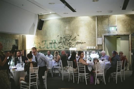 Brisbane Powerhouse wedding reception