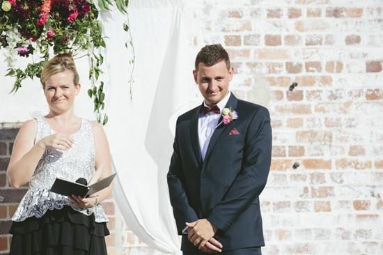 Brisbane groom awaiting bride