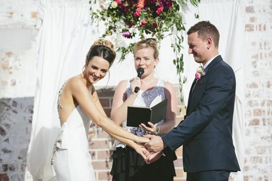 Brisbane marriage ceremony