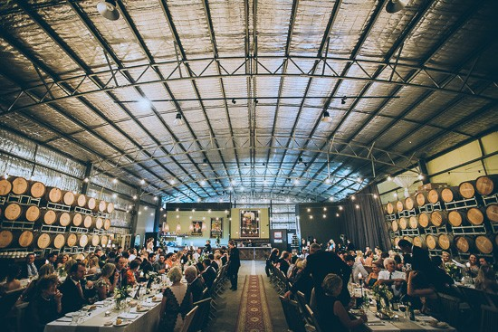 Clyde Park Winery Wedding Reception