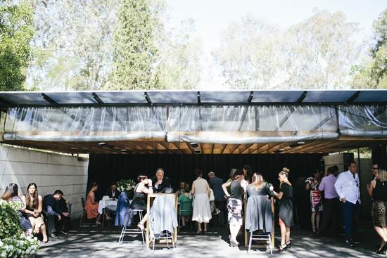 Cocktail wedding at Cafe Vue Heide