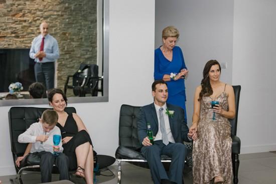 Family home wedding