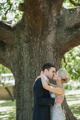 First kiss melbourne wedding