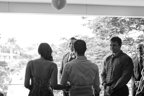Gold coast at home wedding