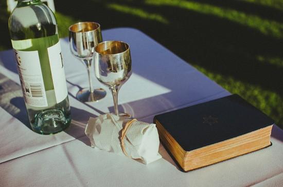 Jewish wedding accessories