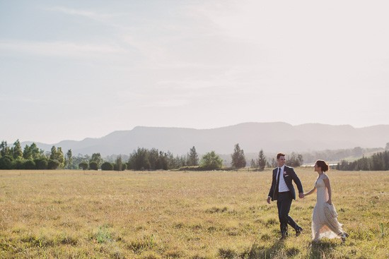 Landscape Wedding photo in Hunter Valley