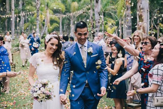 Rose petal wedding exist